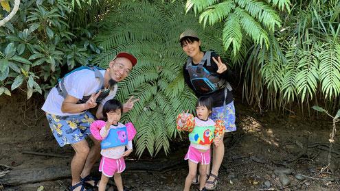 西表島を家族で遊ぶプライベートなオハナ(ファミリー)ツアー【小さなお子さまがいても安心!】