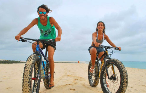 Bike in the Prea Beach