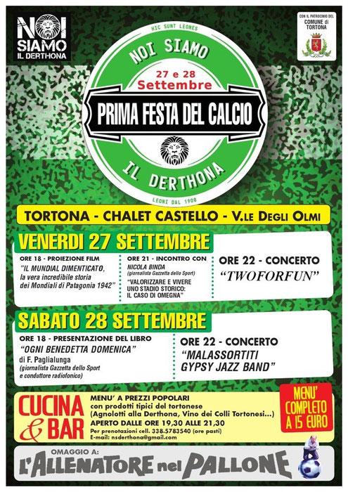 Prima Festa del Calcio a Tortona