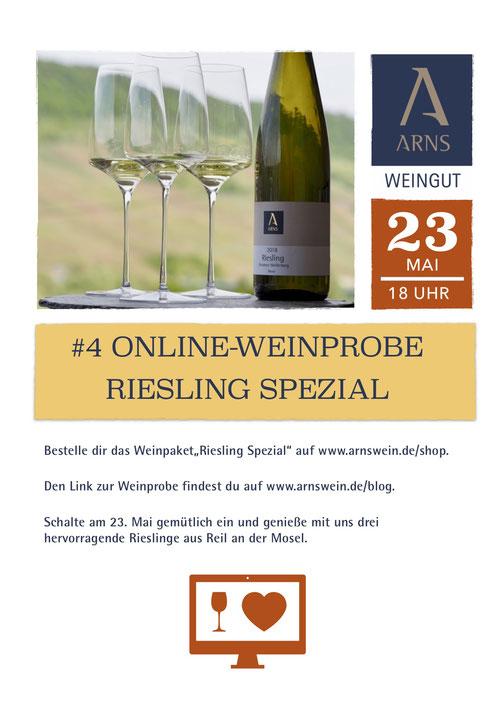 RotRotOrange Online Weinprobe