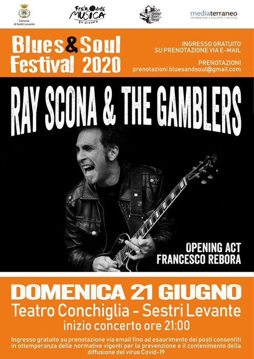 Ray Scona & The Gamblers 06/2020