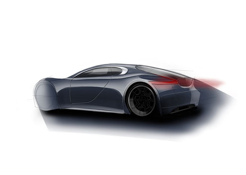 Added car design sketches for exercize