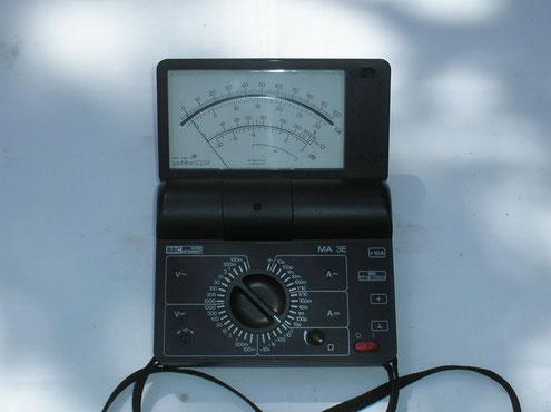 Metrawatt  Vielfach Messgerät Typ. MA 3 E mit Transistorverstärker