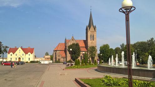 Die katholische Kirche von Vileyka.