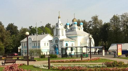Die orthodoxe Kirche von Vileyka.