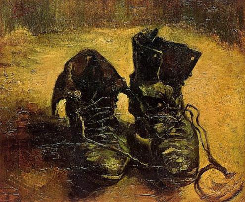 Башмаки - самые известные картины Ван Гога
