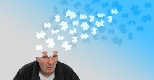 Demzn Alzheimer Vergesslichkeit