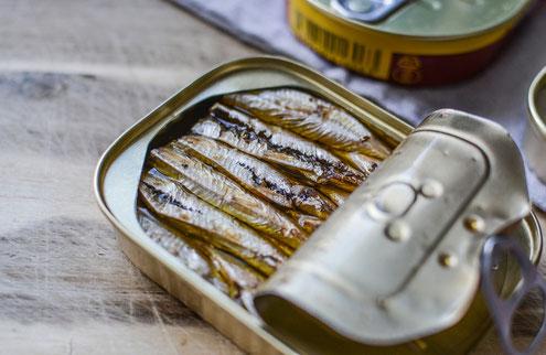 sardinenen omega 3 EPA/DHA entzündungshemmend Migräne Neurodermitis Menstrutionsbeschwerden Asthma Rheuma Morbus Crohn