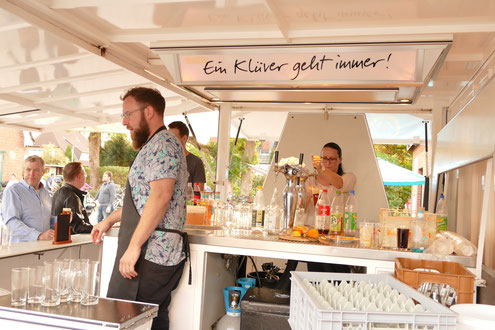 Klüver Rotbier Pils von der Ostsee Malfy Gin