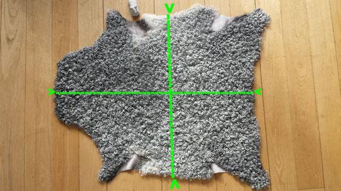 Maße der Gotlandfelle