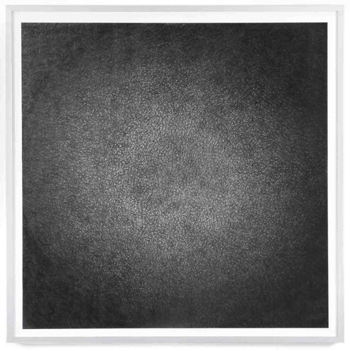 Verdichtung II, 2017, Bleistift auf Papier, 90 x 90 cm