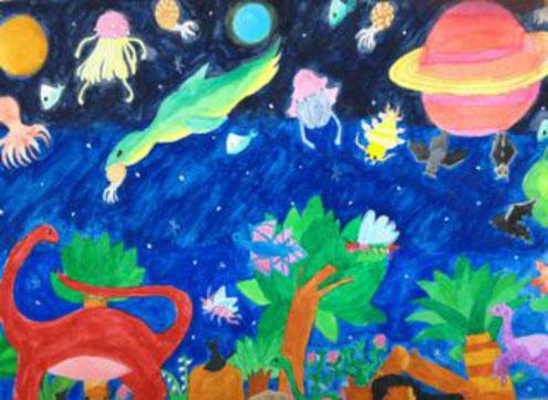 絵画 / 宇宙の絵