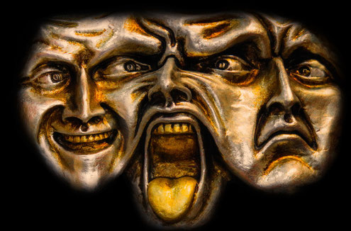 De 4 conflictstijlen. Doordrukken, vermijden, Samenwerken, Exploreren en toegeven.