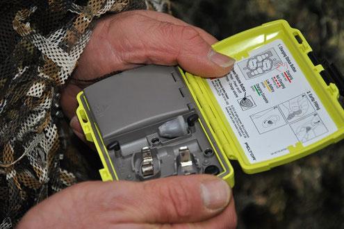 Aktivgehörschutz für die Jagd / Krähenjagd von der Firma 3M Peltor