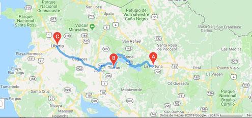 Traslado privado desde aeropuertos en Costa Rica