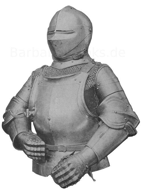 Reiterrüstung des 16. Jahrhunderts