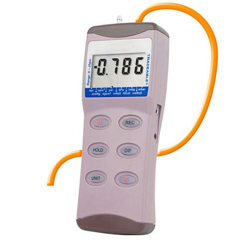 Manómetro digital con certificado trazable a NIST