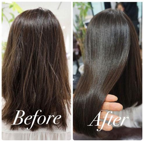 髪質改善 ケラチントリートメント