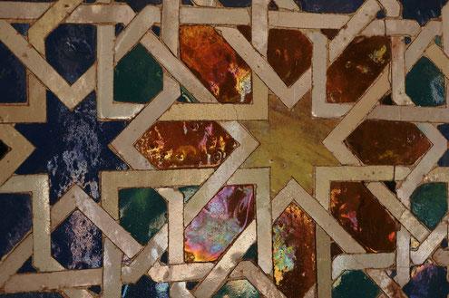 Photographie, Andalousie, Séville, palais, Alcazar, patio, art décoratif, alicatados, céramique, émaux, couleurs, art, architecture, voyage, vacances, Mathieu Guillochon
