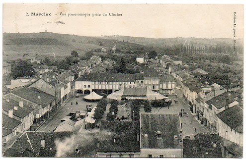 Marciac en 1900