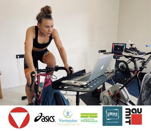 Julia Mayer Vincent Vermeulen training therapy Ramsau am Dachstein Radfahren e cycling league ÖRV Rad bundesliga Sieg
