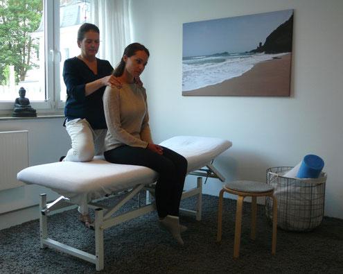 Patientin in Behandlung von Kathleen Grabowitz