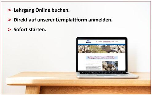 Anmeldung Asbest Lehrgang Online (kleiner Asbestschein Online) mit Kosten in Berlin, Dresden, TRGS 519 Anlage 4C Braunschweig, Essen, Asbestschein Frankfurt