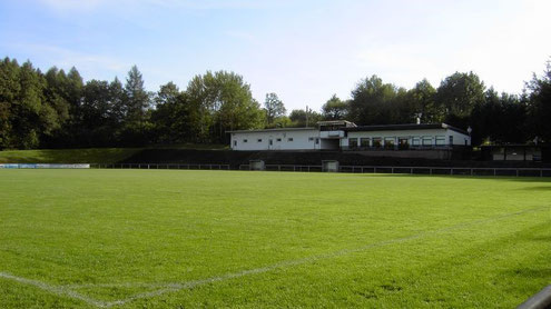 Schaumbergstadion des VfB Theley