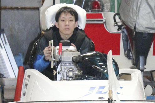 山口支部で勝率2位に躍進した竹田辰也