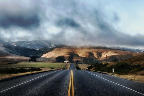 Las carreteras del futuro llevaran lignina en su composición. Imagen: tpsdave