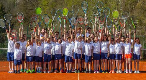 Die Eugenbacher Tennisjugend