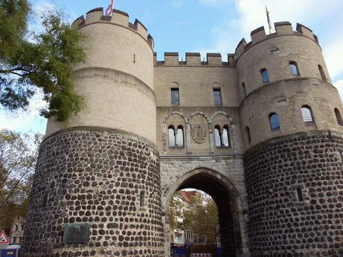 Stadtrallye Köln , Reste der Stadtmauer