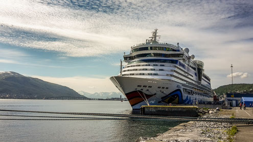 Aida Luna in Tromsø, summer 2017