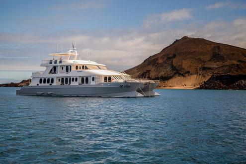 Luxuskreuzfahrtschiff Galapagos Inseln