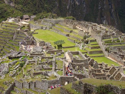 Mit der Eisenbahn nach Aguas Calientes zur Besichtigung von Machu Picchu