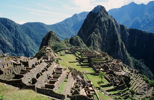 Machu Picchu - UNESCO Weltkulturerbe und strategische Stadt der Inka