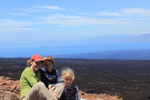Insel Isabela, Galapagos mit Kindern