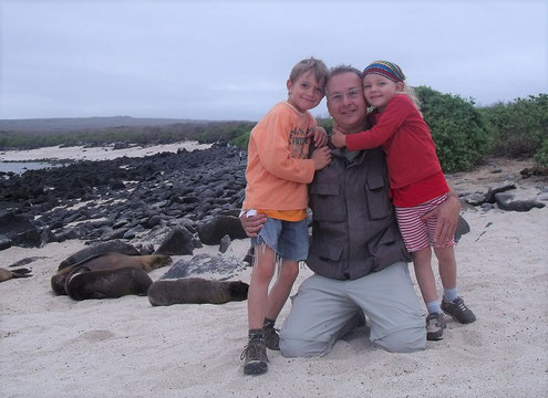 Reisen mit Kindern nach Galapagos