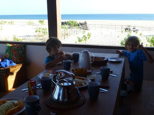 Happy morning in casa estrela do mar
