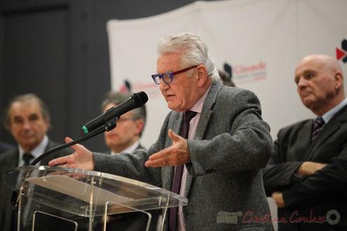 Philippe Madrelle, Président du Conseil général de la Gironde 1988-2015, Sénateur © Christian Coulais