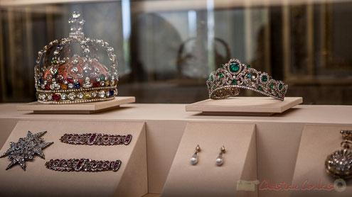 Bracelets et Diadème de la duchesse d'Angoulême, Musée du Louvre