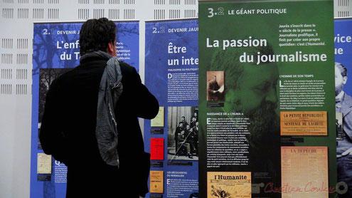 Exposition Mission Centenaire 1914-1918, salle citoyenne, Mairie de Créon. Photographie