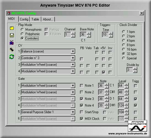 TINYSIZER - MCV 876 PC-EDITOR v 2.71 from Marc Bareille