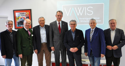 vlnr: Hans Obersteiner, Paul Dobringer, Bernhard Holzer, Herbert Fuchs, Reinhard Huber, Adolf Rausch, Manfred Muchar