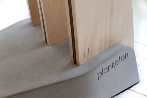 kreativ, Beton, design, planketon, Holzleuchte, Stehleuchte aus Holz