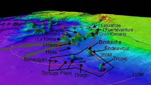 Foto aus ABC Canarias vom Instituto Español de Oceanografía