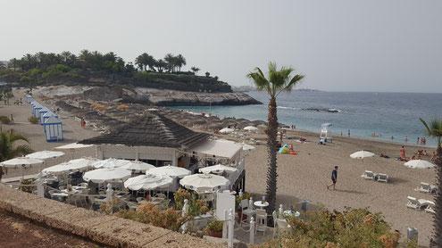 Strand Playa Bahia del Duque in Costa Adeje, Teneriffa