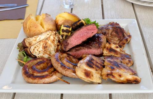 Grigliata mista 1 Kg di carni piemontesi Ombelico Rivoli Torino