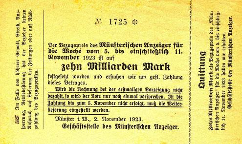 Der Zwinger um 1930