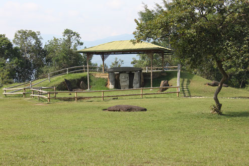 Führung durch den Archäologischen Park San Agustin mit KOLUMBIENline